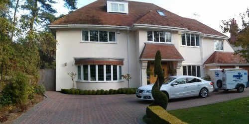 Window Cleaning Canford Cliffs Poole Dorset