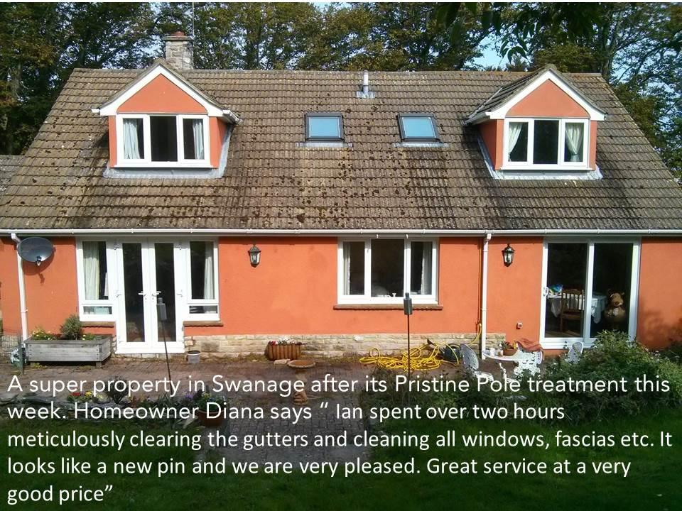 Window Cleaning Swanage Dorset